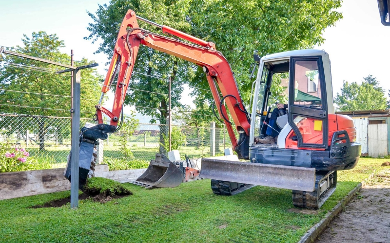 Trenching and Heavy Landscaping
